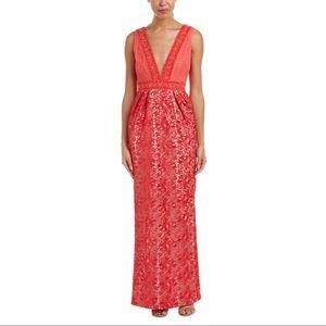 🆕 ML Monique Lhuillier Lace Gown